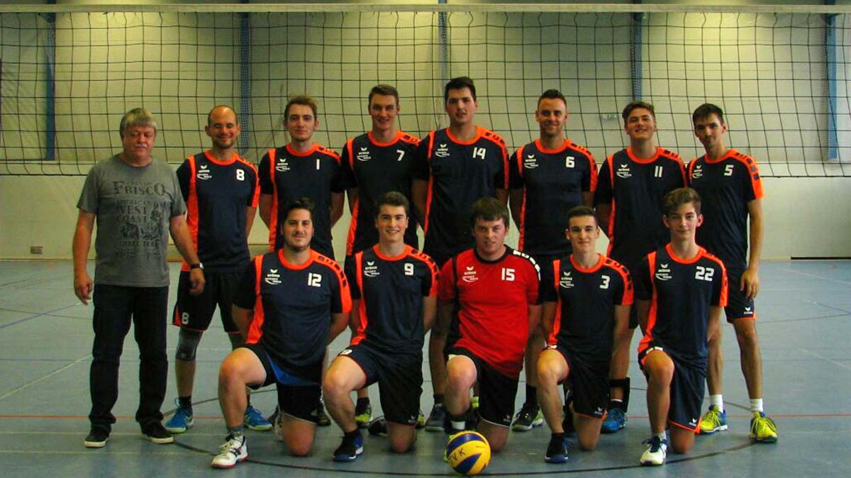 Herrenmannschaft 2 Volleyball